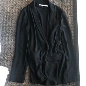 Dianne von furstenberg black blazer